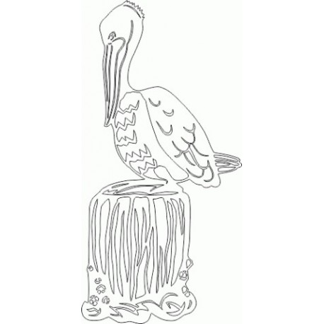 Pelican Free DXF File