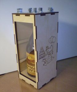 Box Of Russian Spirits File Download For Laser Cut Cnc Free DXF File