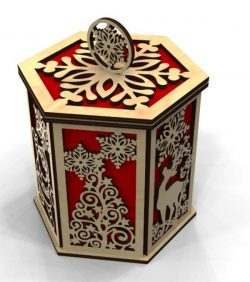 Box File Download For Laser Cut Free DXF File