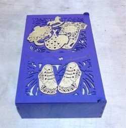 mother's Treasure Box File Download For Laser Cut Free DXF File
