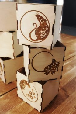 Mouse Box File Download For Laser Cut Free DXF File