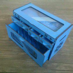 Organizer Box File Download For Laser Cut Free DXF File