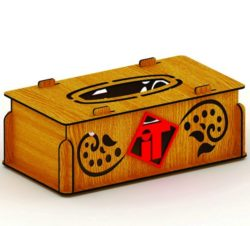 Arab Napkin Box File Download For Laser Cut Free DXF File