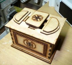 Box Download For Laser Cut Cnc Free DXF File