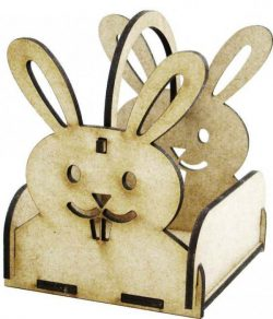 Box Hare Download For Laser Cut Free DXF File