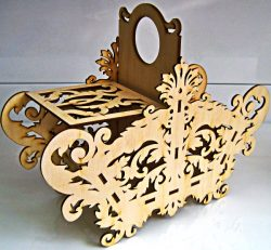 Candy Box Download For Laser Cut 5458 Free DXF File