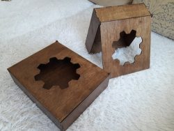 Gear Shaped Box Download For Laser Cut Free DXF File