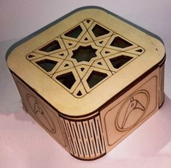Art Box Download For Laser Cut Free DXF File