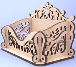 Box Card Download For Laser Cut Cnc Free DXF File