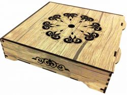 Engraving Box With Laser Download Free Vector Free DXF File