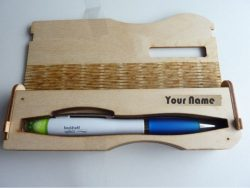 Pen Box Download For Laser Engraving Machines Free DXF File
