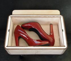 Shoe Box Download For Laser Cut Free DXF File