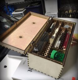 Tool Box For Laser Cut Free DXF File