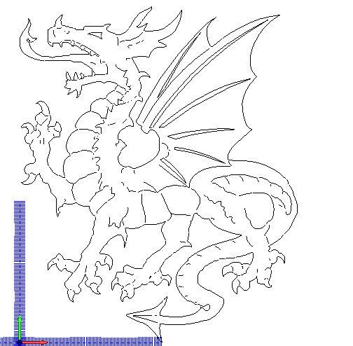 Dragon Free DXF File