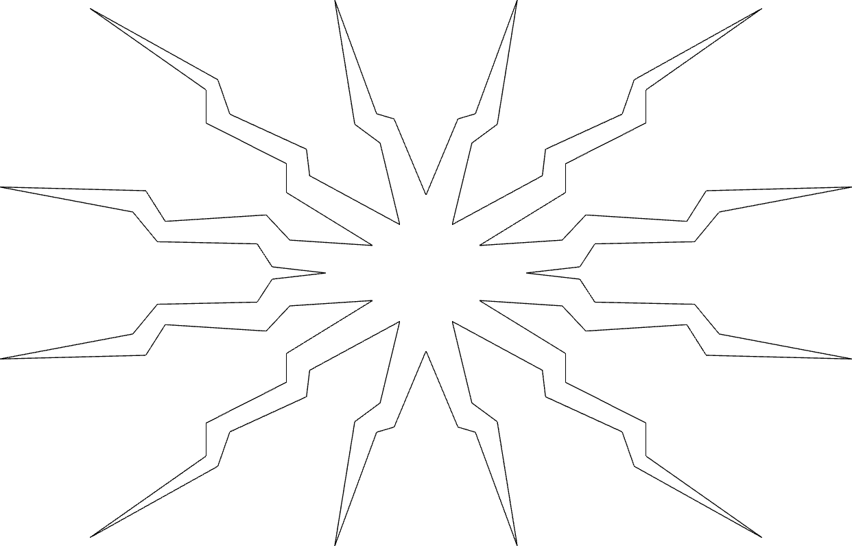 Explosion Free DXF File