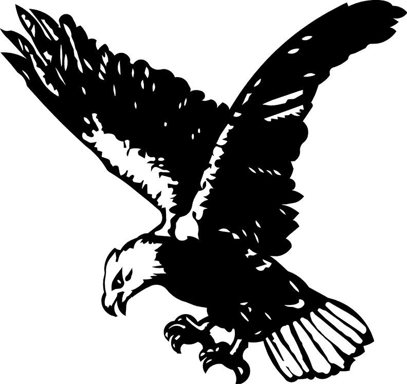 Flying Eagle Free DXF File