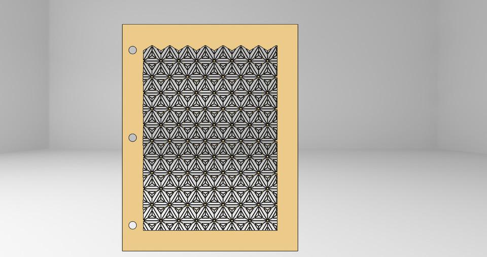 Frame Art Free DXF File