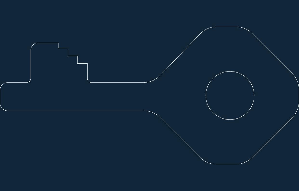 Key Free DXF File