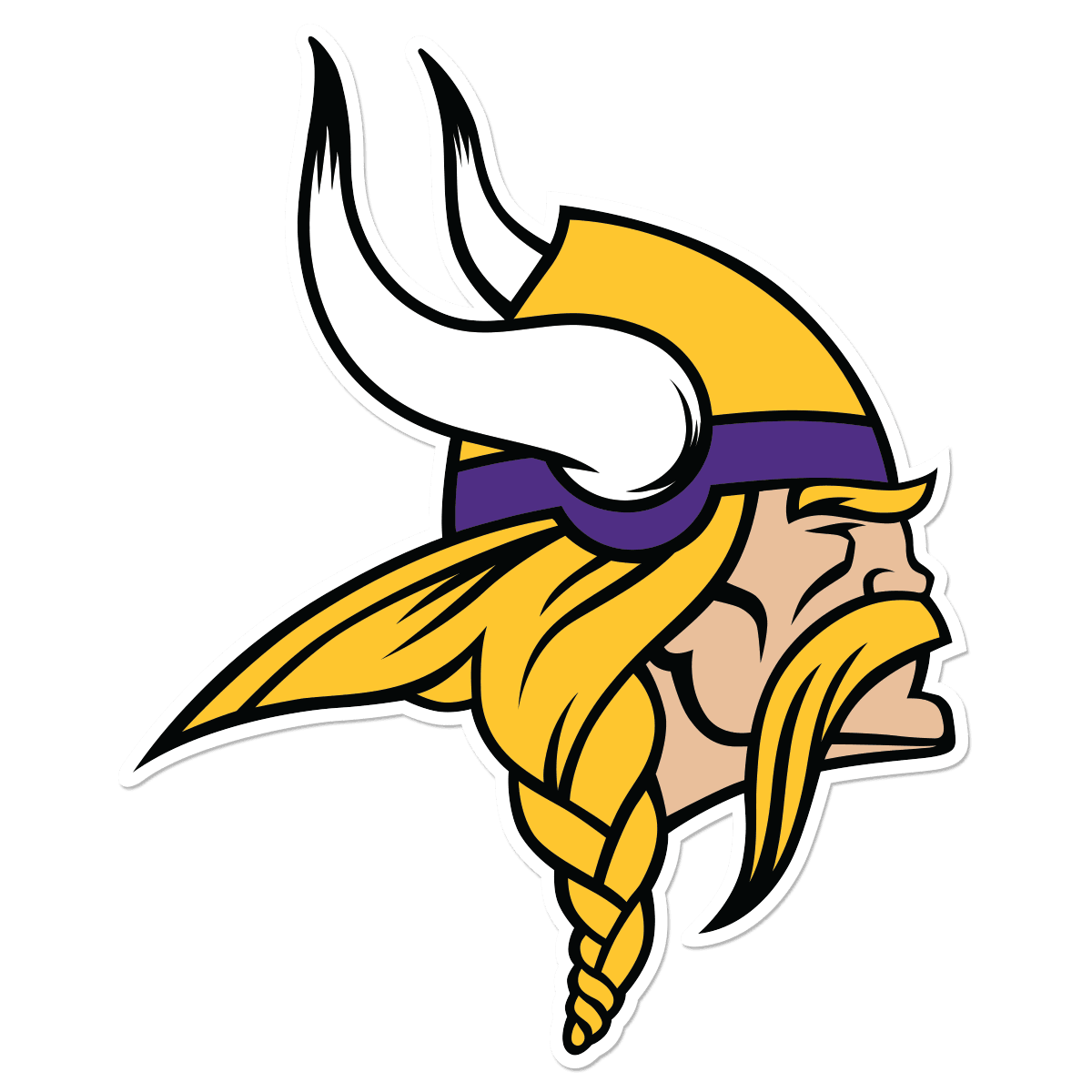 Minnesota Vikings Logo Free DXF File