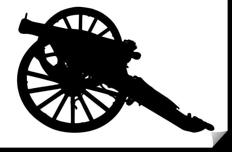 Napoleon Cannon Free DXF File