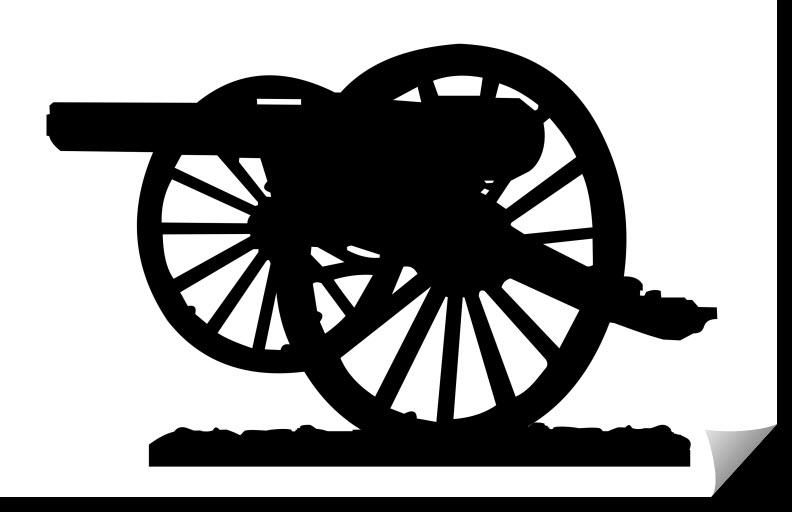 Parrott Cannon Free DXF File
