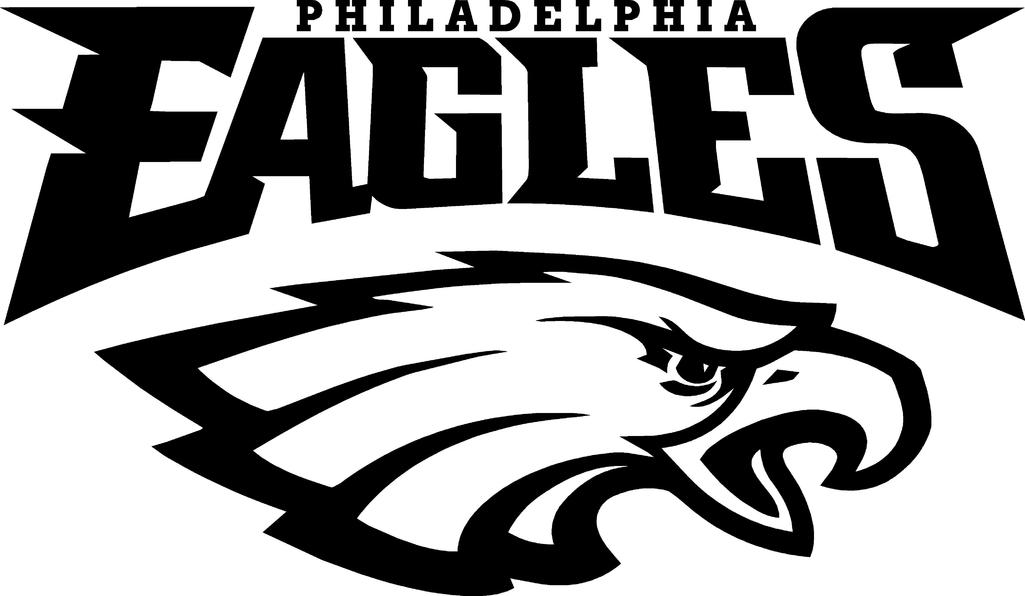 Philadelphia Eagles Logo Free DXF File