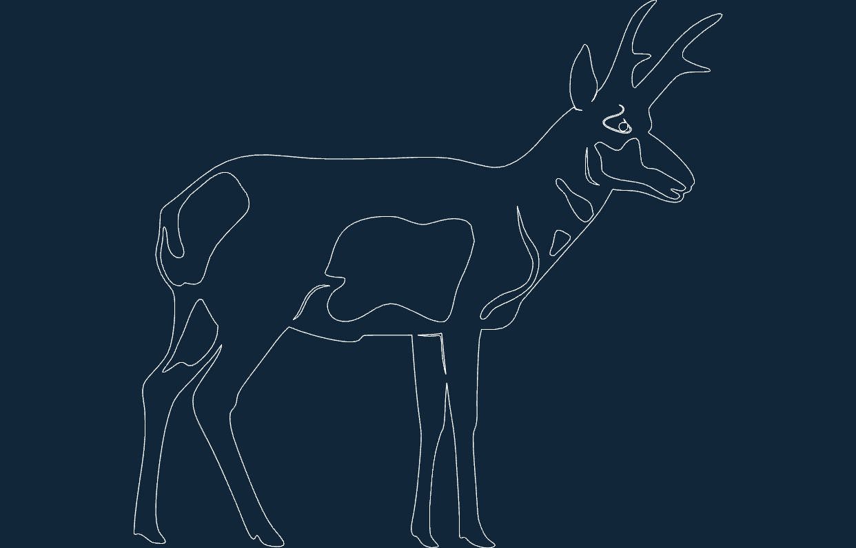 Pronghorn Free DXF File