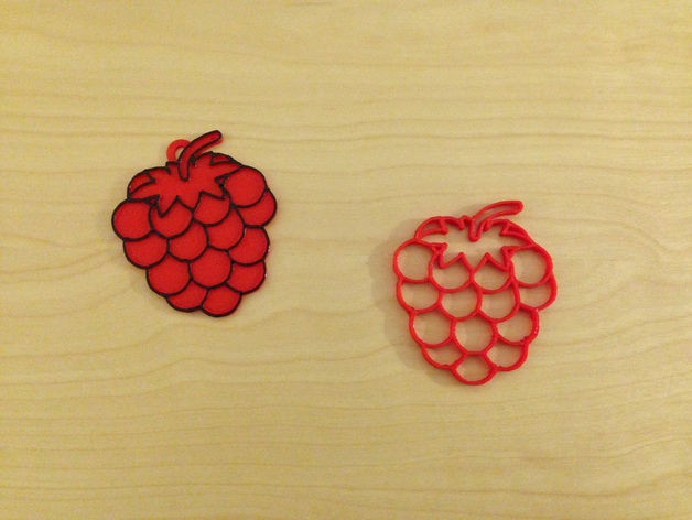 Raspberry Free DXF File