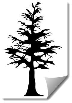 Tree 2 Free DXF File