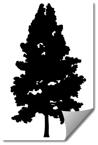 Tree 5 Free DXF File