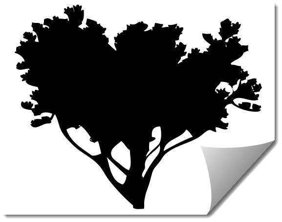 Tree 8 Free DXF File
