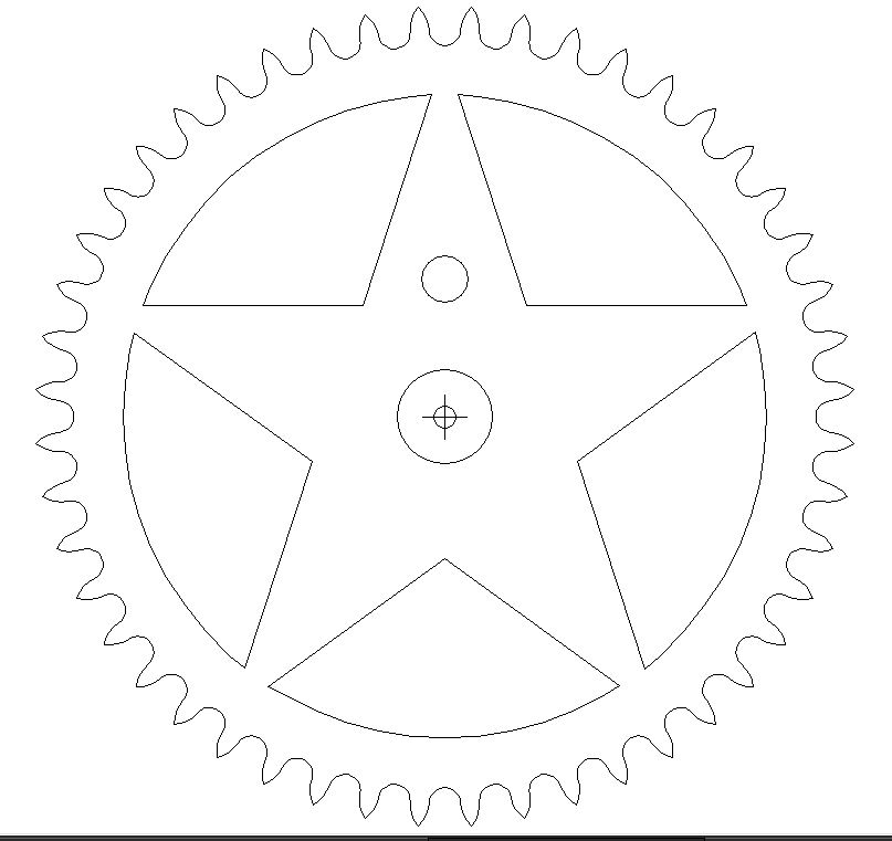 White Star Free DXF File