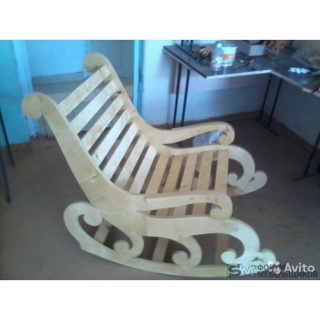 Laser Cut Armchair Free DXF File