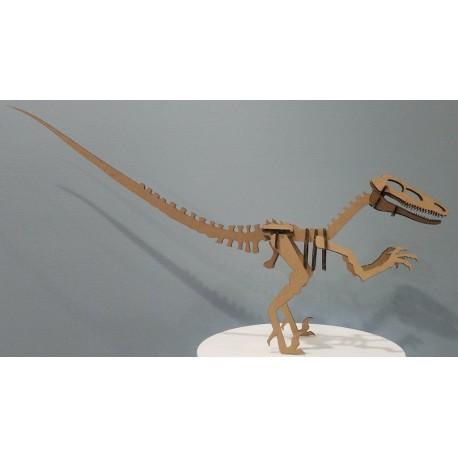 Laser Cut Raptor Dinosaur Velociraptor Free DXF File
