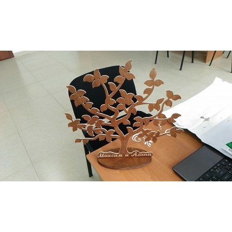 Tree 3d Stand Free DXF File