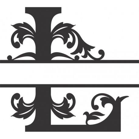 Regal Split Font L Free DXF File