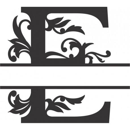 Regal Split Font E Free DXF File