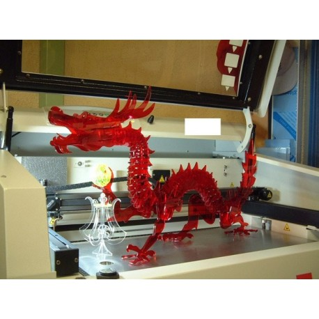 3d Puzzle Dragon Free DXF File