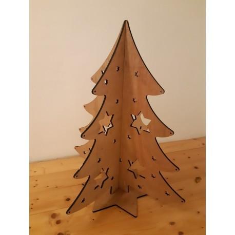 Tree 3mm Free DXF File