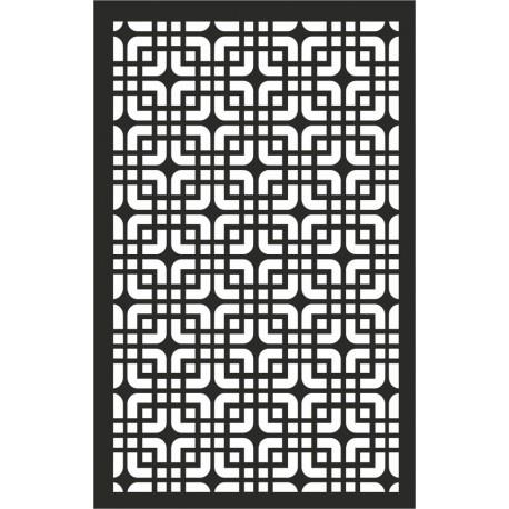 Geometric Panel Pattern Free DXF File