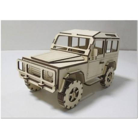 Laser Cut Land Rover Defender Free DXF File