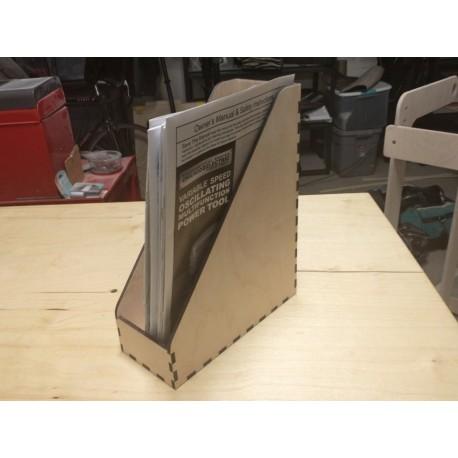 Magazine Box Free DXF File
