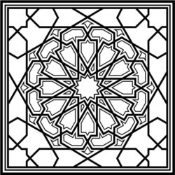 Arabesque To Cut Download For Laser Cut Free DXF File