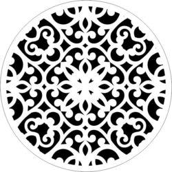 Decorative Motifs Circle k62 Download For Laser Cut Free DXF File