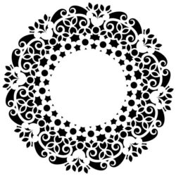 Decorative Motifs Circle k63 Download For Laser Cut Free DXF File