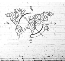 Murals Of The World Map Download For Laser Cut Plasma Free DXF File