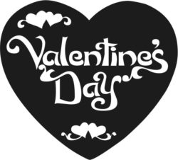 Valentines Day Heart Download For Laser Cut Free DXF File