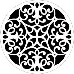 Decorative Motifs Circle k261 Download For Laser Cut Free CDR Vectors Art