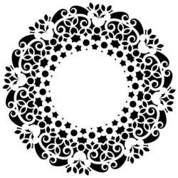 Decorative Motifs Circle k263 Download For Laser Cut Free CDR Vectors Art