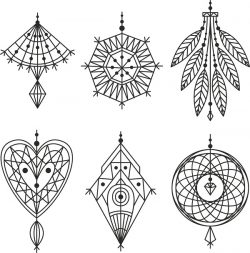 Accessories Set For Print Or Laser Engraving Machines Free DXF File
